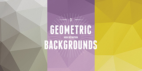 3 GEOMETRIC BACKGROUNDS BY MICHAEL REIMERイメージ