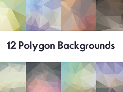 Free Polygon Backgrounds :V1イメージ